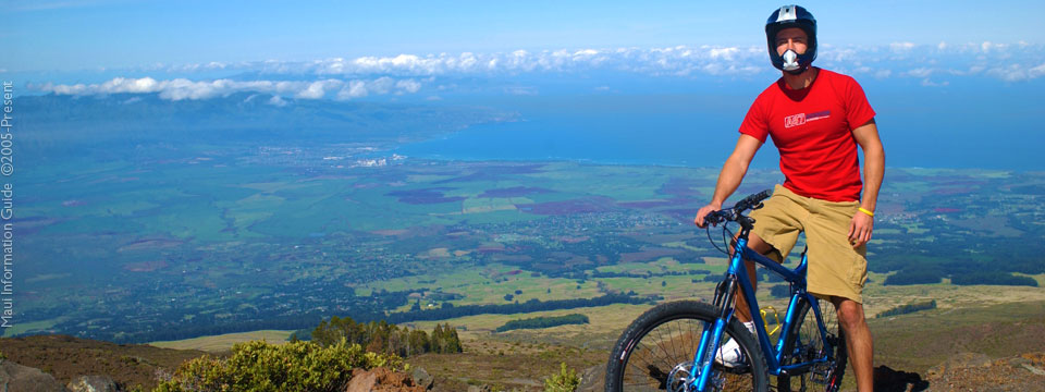 biking in Maui