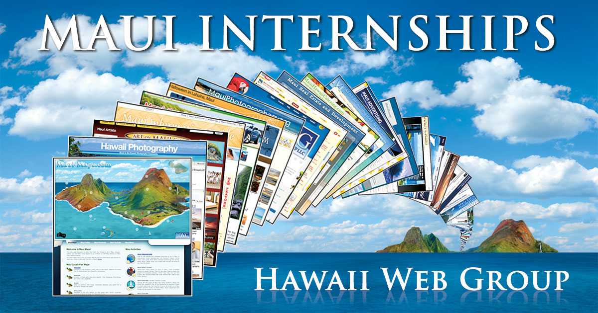 Maui Marketing Internships – Graphic/Web/Video