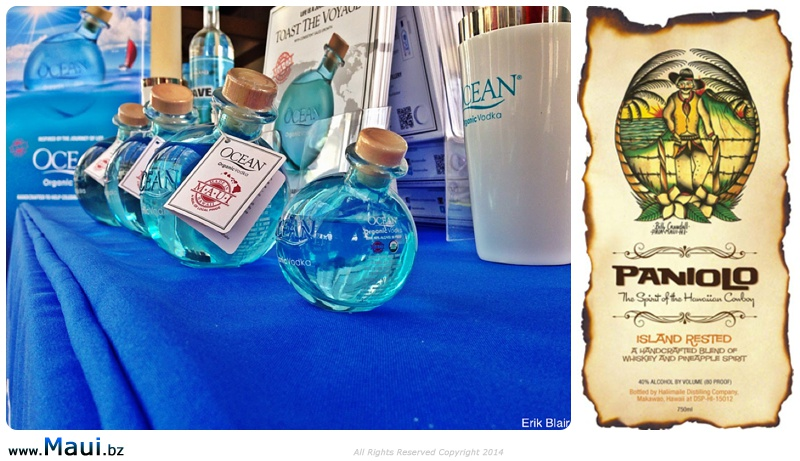 ocean vodka paniolo whiskey