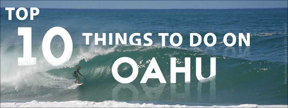 top ten things to do on oahu