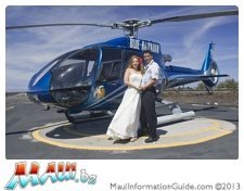maui helicopter wedding