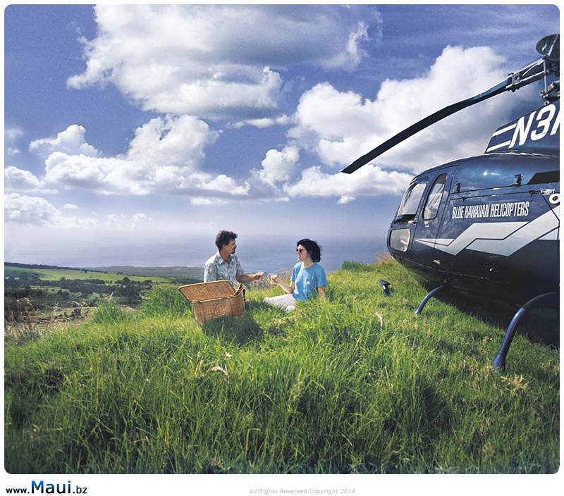 maui helicopter wedding locations