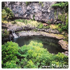 seven sacred pool closed maui