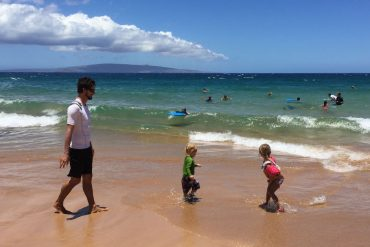 family in Maui Hawaii