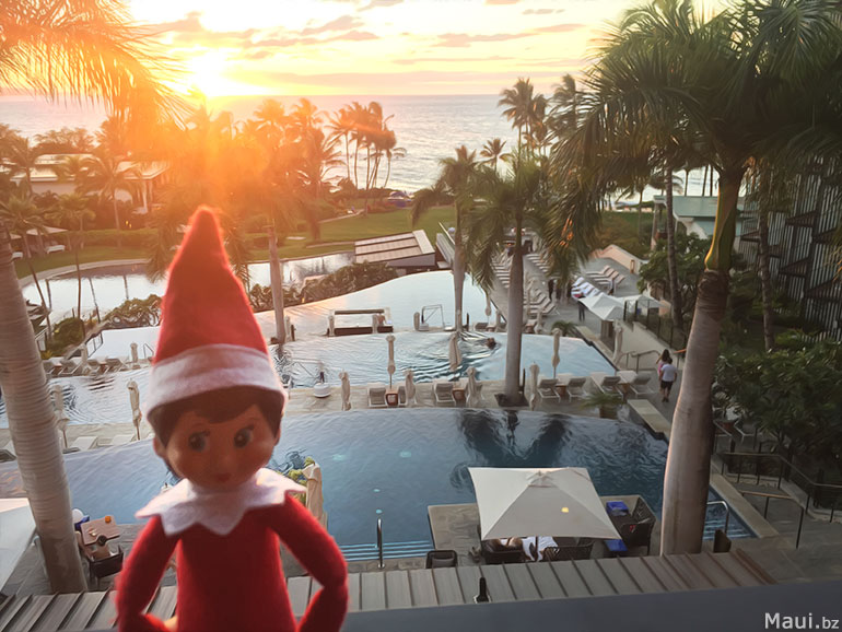 Elf On A Shelf Hawaii Style Maui Bloggers Zone