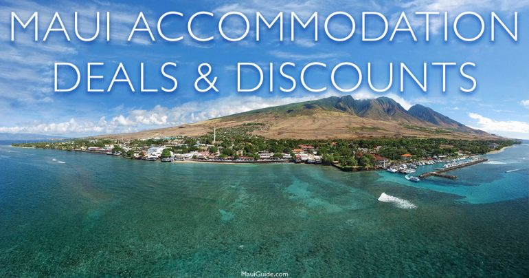 Maui acccommodation deals and discounts