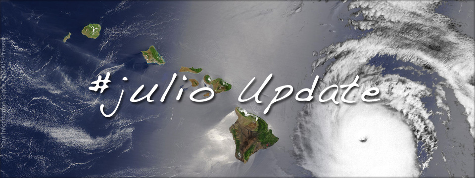 hurricane julio update