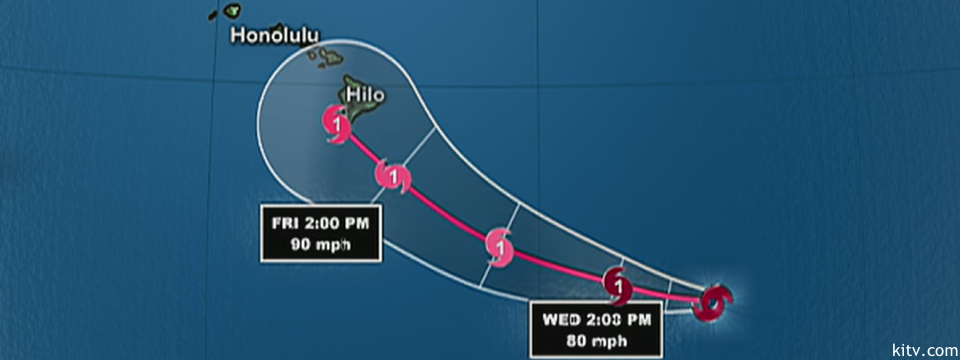 Hawaii Storm Update: Ana