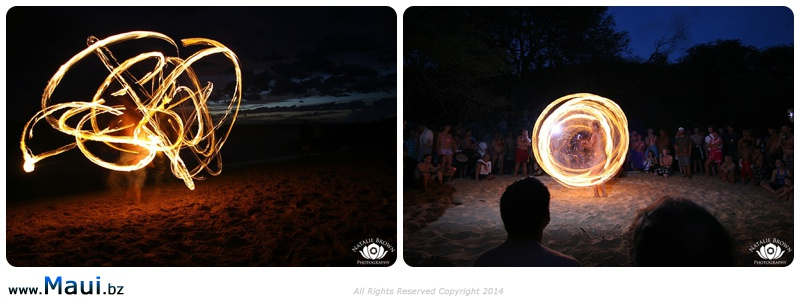 fire spinning maui