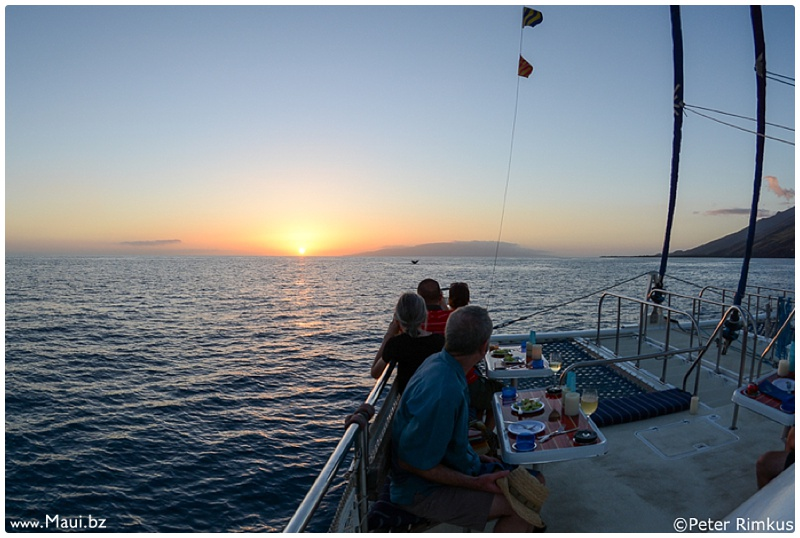 maui sunset boat tours