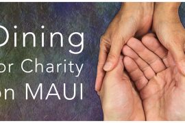 dining for charity Maui