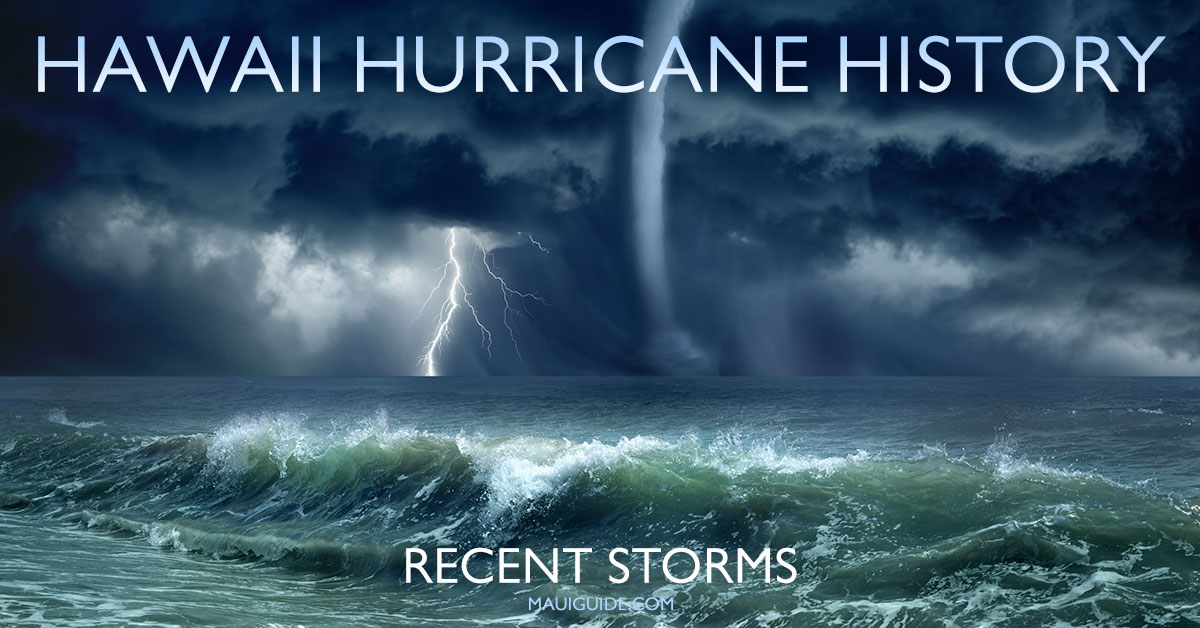 Hawaii Hurricane-History