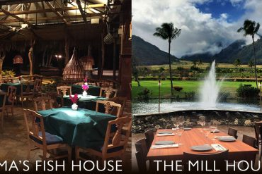 The Mill House and Mamas Fish House