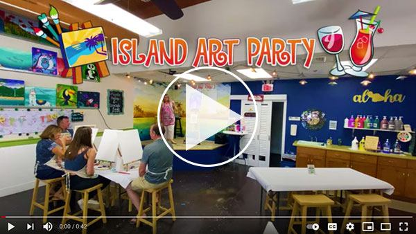Island Art Party Video
