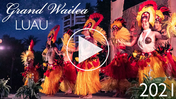 Grand Wailea Luau Video