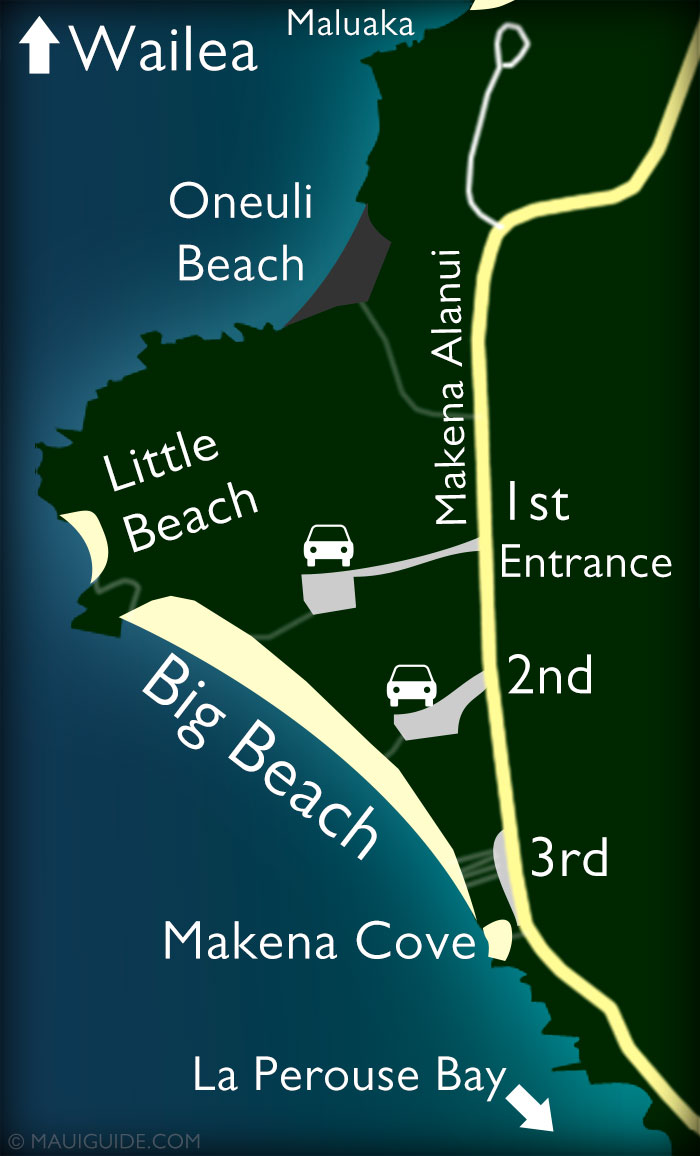 Little Beach Map