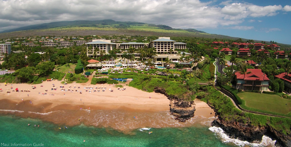 The Four Seasons Maui At Wailea Aerial Photo