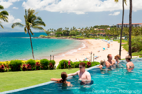 The Four Seasons Maui at Wailea Serenity Pool View