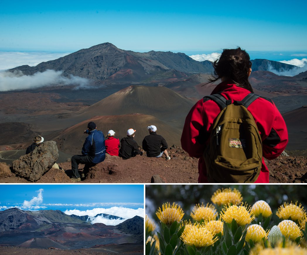 hiking Haleakala Crater