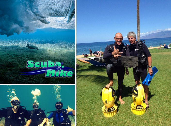 Maui Scuba Mike Offering Padi Certification And Guided