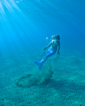 mermaid in Maui