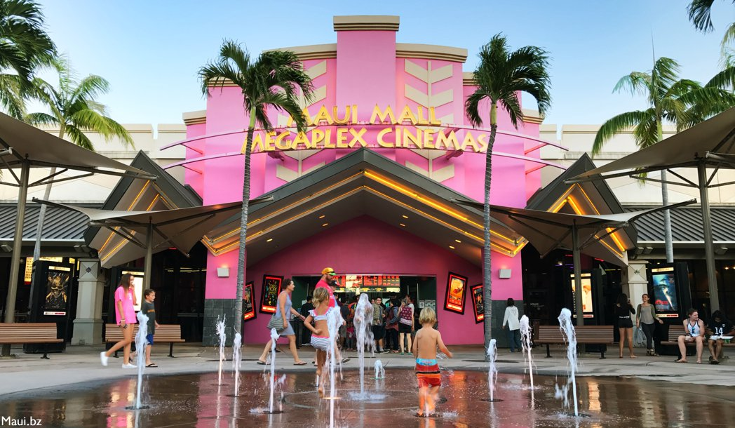 Maui Mall movie theater