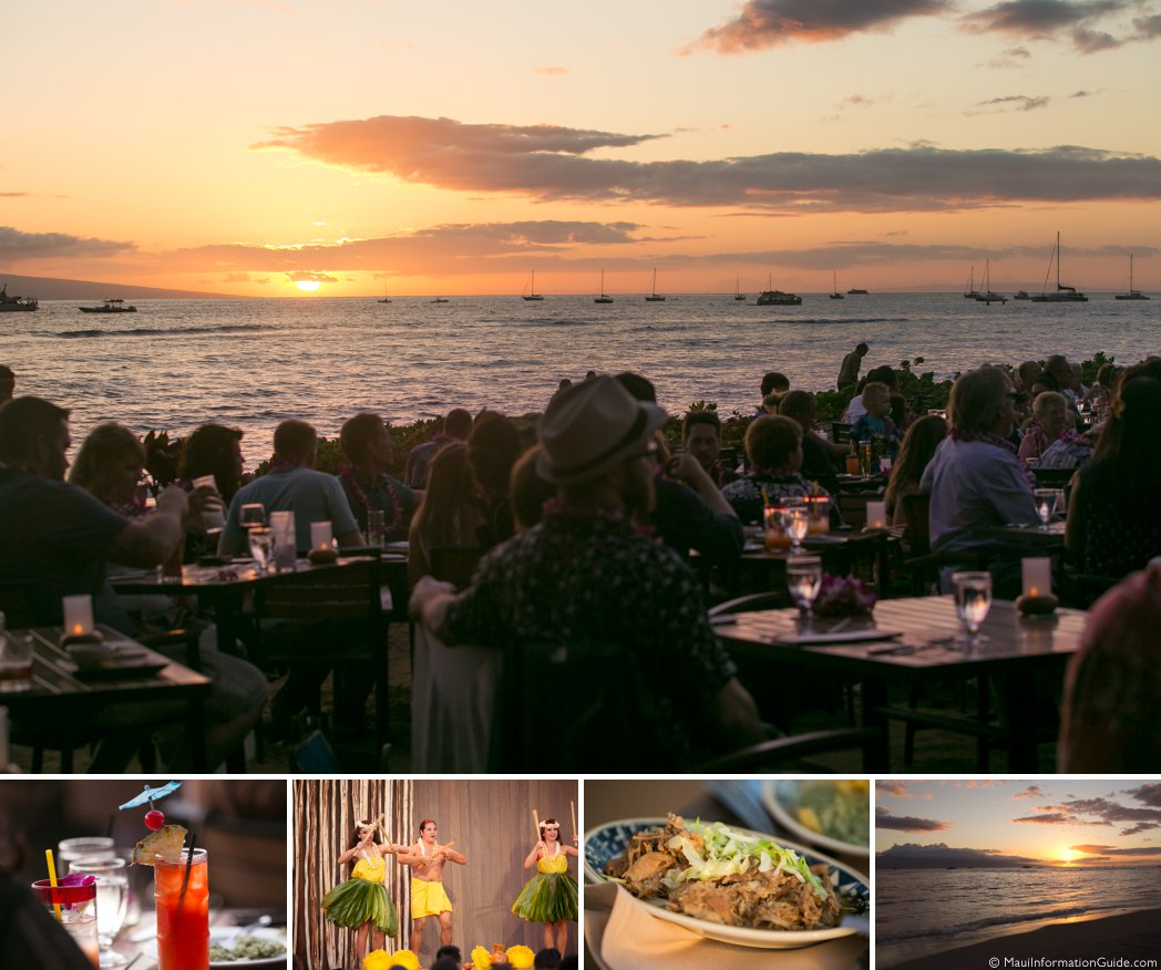 Feast at Lele sunset
