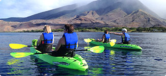 kayaking tours in Maui