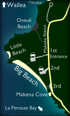 Big Beach Map