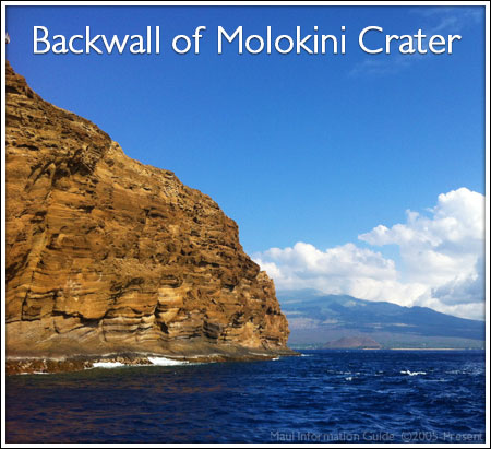 Backwall Molokini Crater
