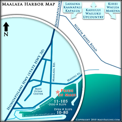 Maalaea Map