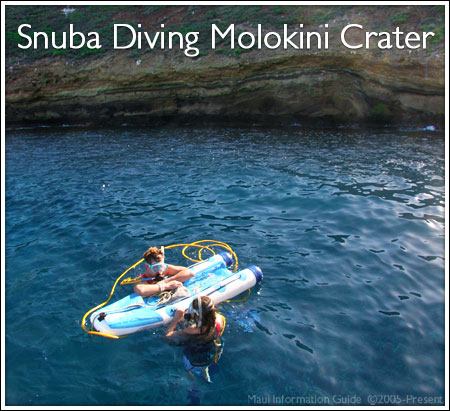 Snuba Diving Molokini