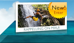 rappelling waterfalls on maui