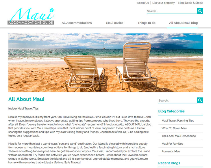 All About Maui