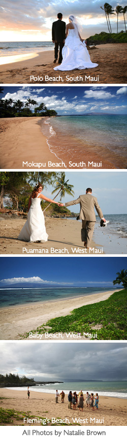 Maui Wedding Beaches