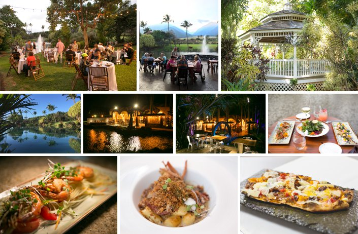 Maui wedding catering