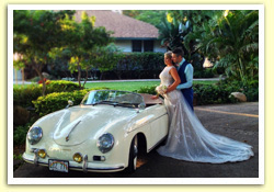 Maui Wedding car