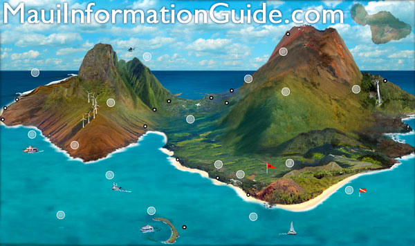 Maui Island Map – Tourist Map Of Maui